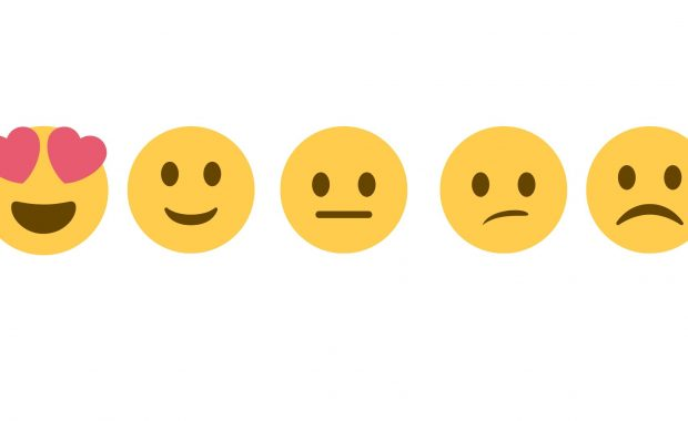 Images of a scale of pain faces